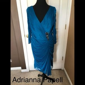 NWT Adrianna Papell occasion dress size 18W